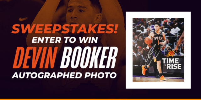 GIVEAWAY: Win a Devin Booker autographed photo!