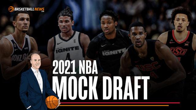 Updated 2021 NBA Mock Draft: 7/20/2021