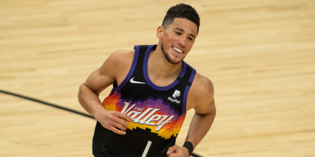 Devin Booker named NBA All-Star replacement in West for Anthony Davis