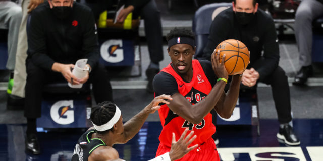 Pascal Siakam out until after All-Star Break