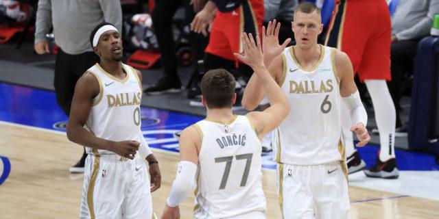 Porzingis returns, Dallas ends Brooklyn's eight-game win streak