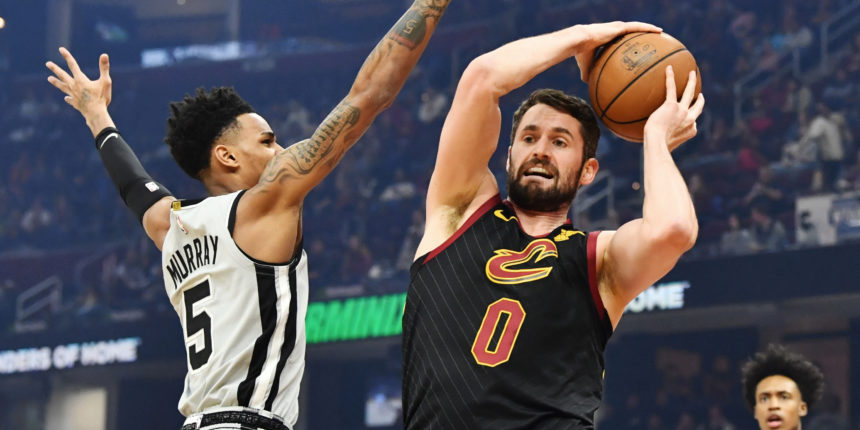 Kevin Love likely out until All-Star break