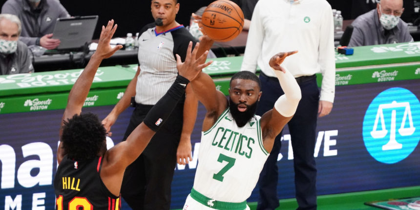 Jaylen Brown (knee) 'questionable' vs. Clippers Tuesday