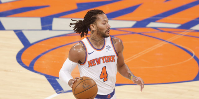 Derrick Rose out due to NBA's Health and Safety Protocols