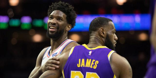 Sportsbooks now have Joel Embiid as MVP favorite over LeBron James