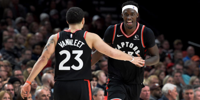 Pascal Siakam, Fred VanVleet (COVID) cleared to return to practice