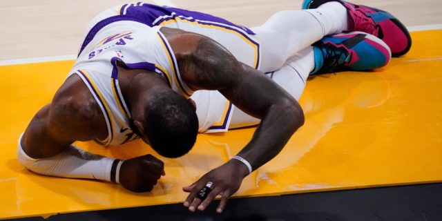 LeBron James out indefinitely with right ankle sprain