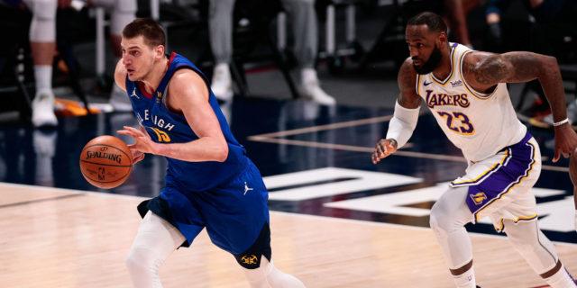 LeBron James drops behind Nikola Jokic in NBA MVP odds