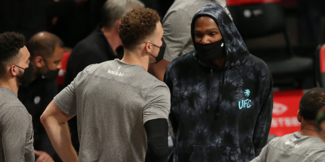 Kevin Durant closing in on return to action