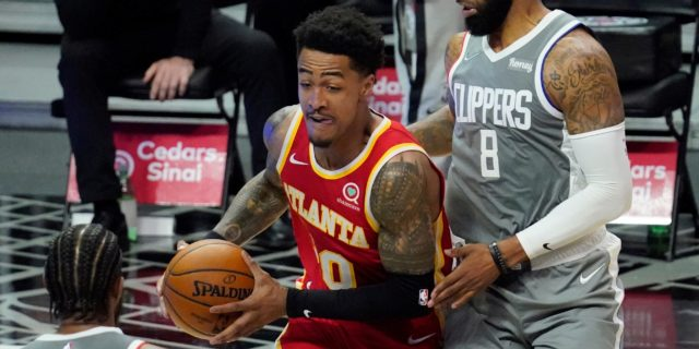 John Collins (ankle) to be re-evaluated in a week