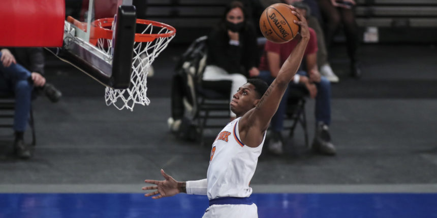 It's about time we talk about the improvement of RJ Barrett