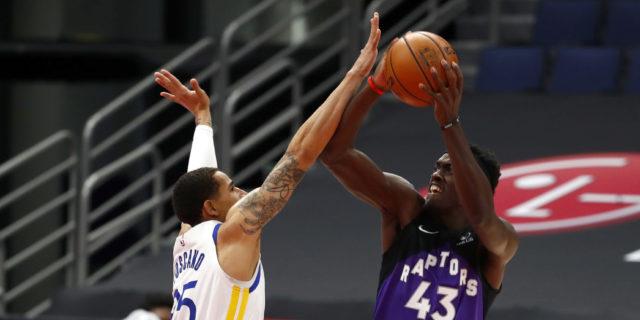 Raptors hand Warriors largest-margin loss of NBA season, 130-77