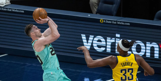 Gordon Hayward out at least four weeks with foot sprain