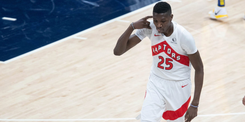 Is Raptors' Chris Boucher worth a flyer For Most Improved Player?