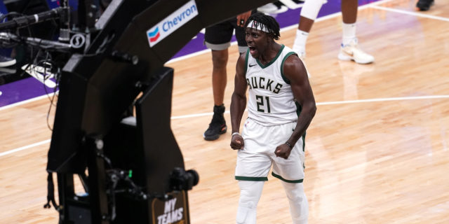 Jrue Holiday inks four-year max extension: 'I'm a Buck for life'
