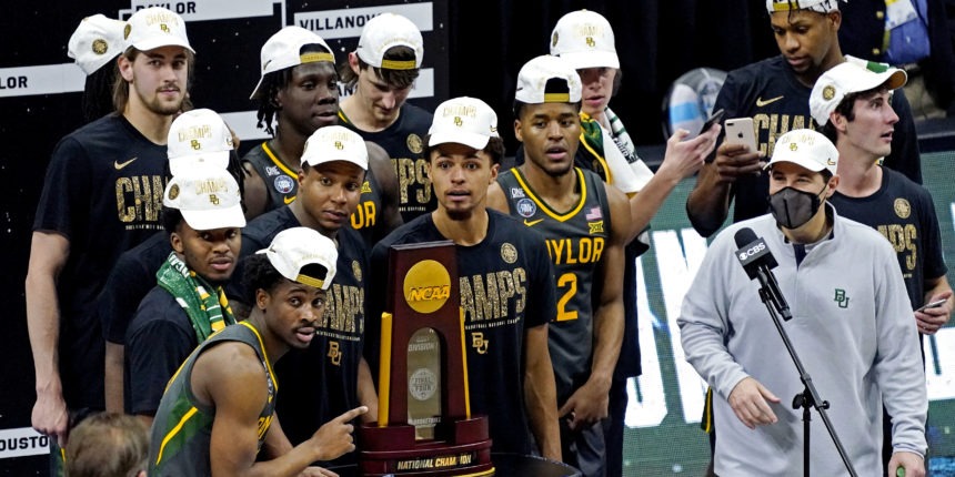 Baylor wins first NCAA Men's National Championship in school history