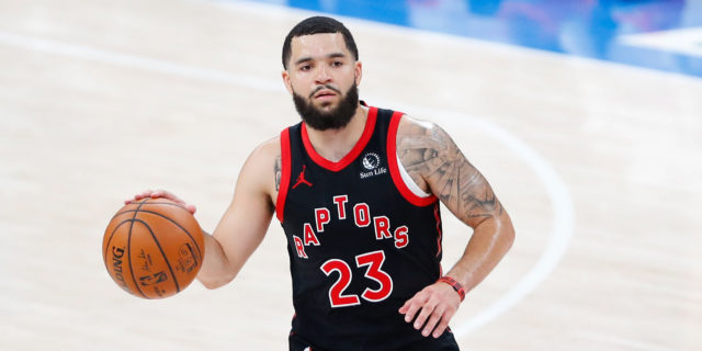 Fred VanVleet out Tuesday vs. Lakers with hip injury