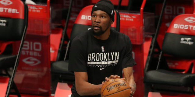 Kevin Durant (hamstring) to return to lineup today vs. Pelicans