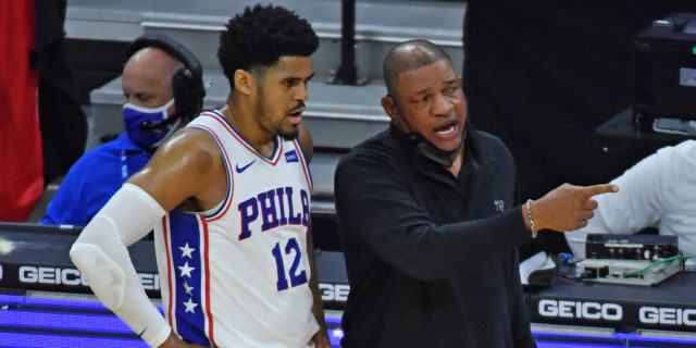 Tobias Harris credits Doc Rivers for success: 'He's a coach that pushes me'