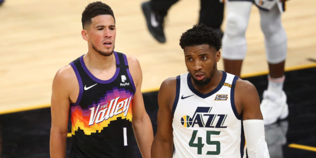 Booker, Paul lead Suns to 117-113 OT win over Jazz