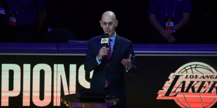 Adam Silver gives update on NBA's relationship with China