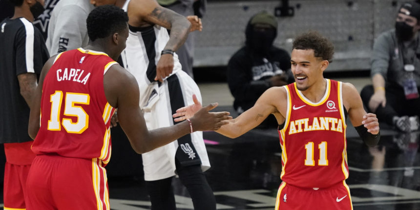 Trae Young and the Hawks are suddenly getting it done in the clutch