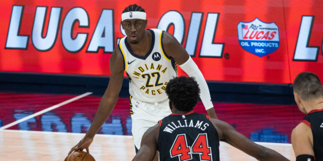 Pacers' Caris LeVert has not lost a single step after surgery