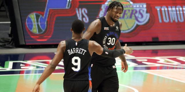 Randle, Barrett lead Knicks to first 5-game winning streak since 2014