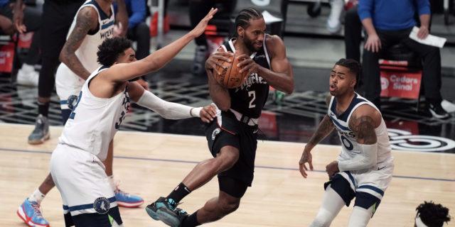Kawhi Leonard returns, Clippers rout Timberwolves 124-105
