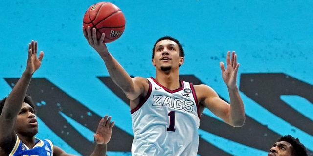 Gonzaga star freshman Jalen Suggs declares for NBA Draft