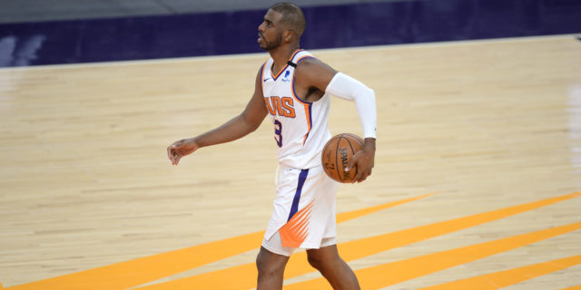 Chris Paul passes Magic Johnson for fifth on NBA's all-time assists list