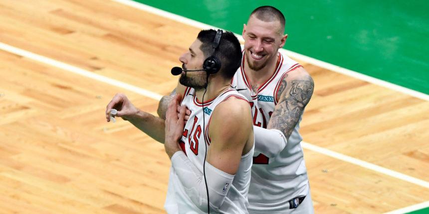 Nikola Vucevic scores 29, Bulls snap Celtics' 6-game streak, 102-96