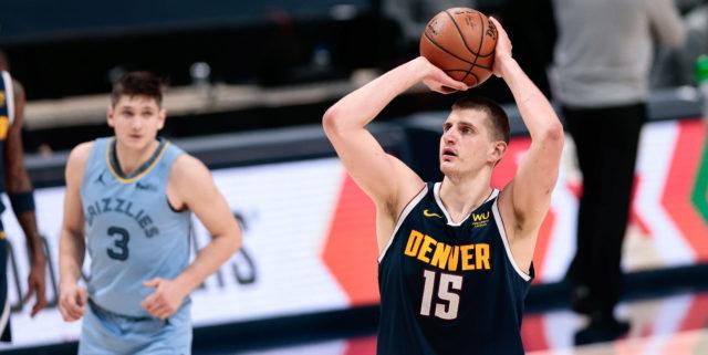 Nikola Jokic's 47 leads Nuggets over Grizzlies 139-137 in 2 OTs