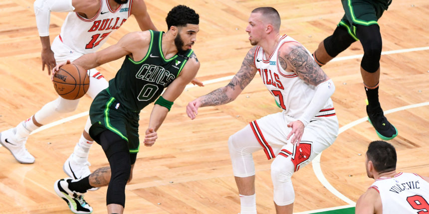With first career triple-double, Tatum is second-youngest Celtic to achieve feat