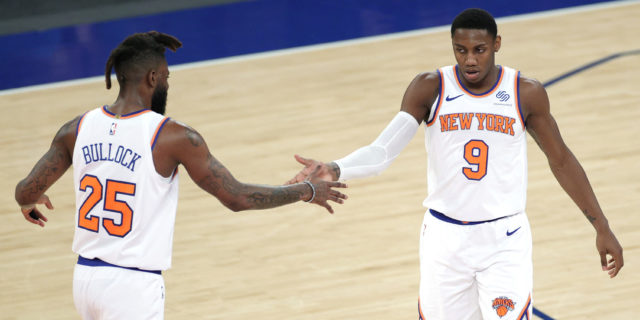Knicks beat Hornets 109-97, run winning streak to 7 games