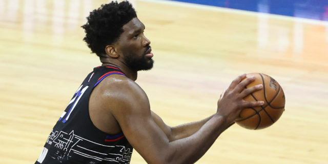 Joel Embiid on if he's the MVP this season: 'There's no doubt'