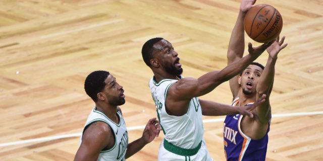 Kemba Walker ties season high with 32 points, Celtics beat Suns