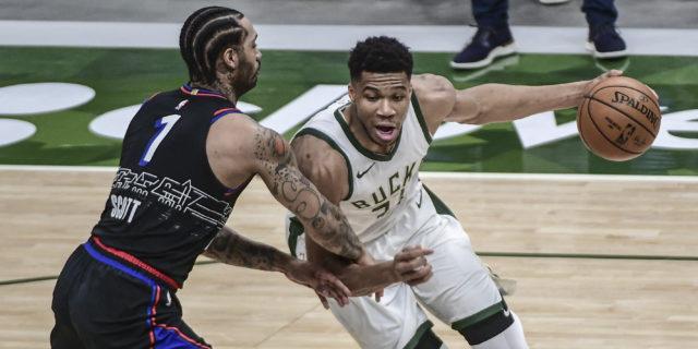 Giannis Antetokounmpo: Bucks 'locked in from the start' in win vs. 76ers
