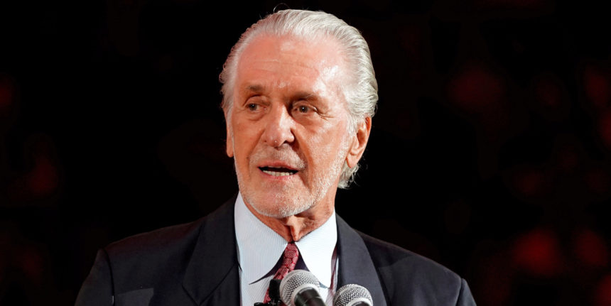 As long as Pat Riley is in the picture, the Heat have a shot