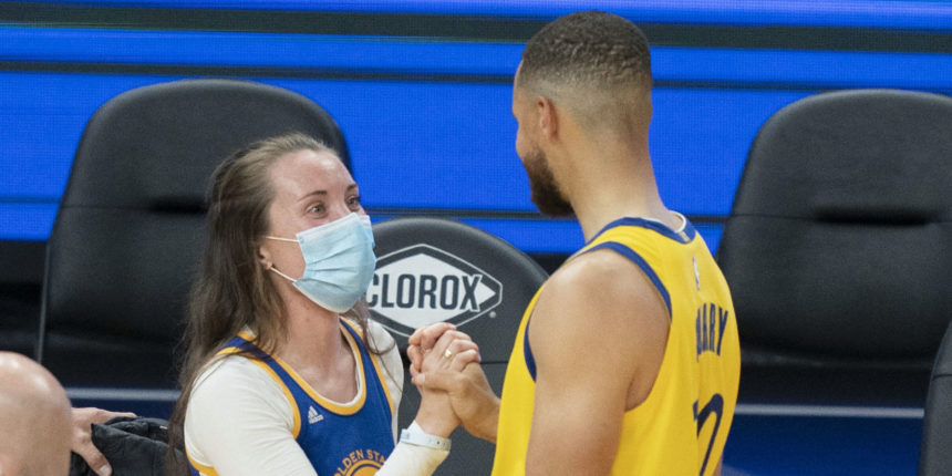 ICU nurse Shelby Delaney inspired by Steph Curry's motivational verse