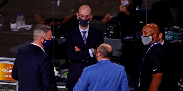 Adam Silver addresses NBA technology, relationship with China