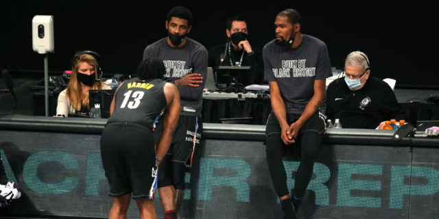 On the Brooklyn Nets, No. 7 and the slow, methodical march to a title