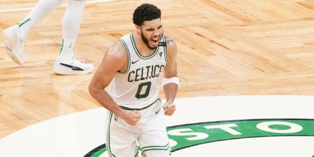 Tatum scores career-high 60 points, Celtics overcome 32-point deficit