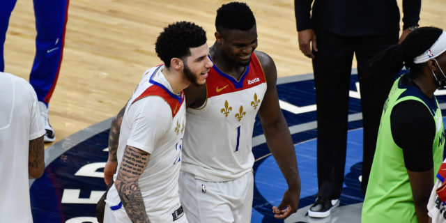 Zion Williamson scores 37; Pelicans beat Wolves 140-136 in OT
