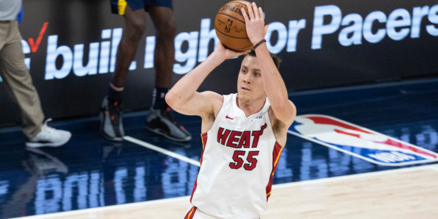 Duncan Robinson becomes fastest player in NBA history to make 500 threes