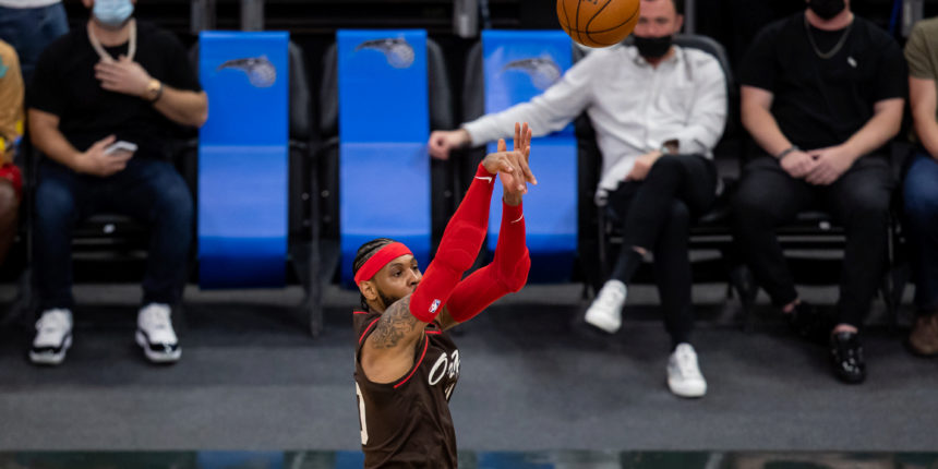 Carmelo Anthony moves up to No. 10 on NBA's all-time scoring list