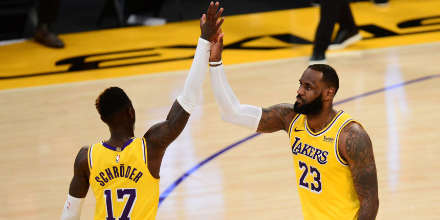 With LeBron, Schröder out, Lakers are missing offense's 'quarterbacks'
