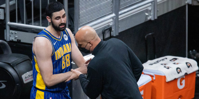 Pacers suspend assistant Greg Foster, fine Goga Bitadze for altercation
