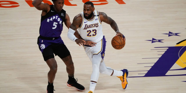 LeBron James (ankle) could return to lineup next week