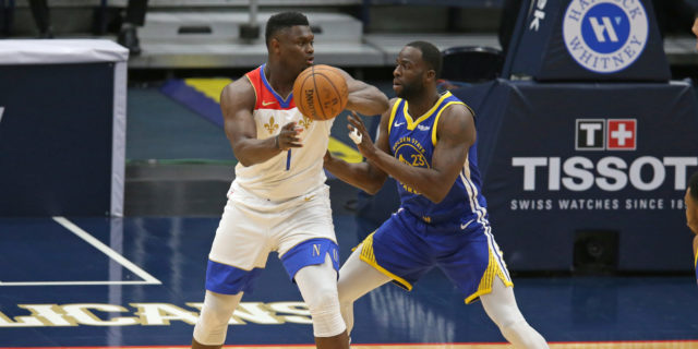 Zion Williamson fractures left finger, out indefinitely for Pelicans
